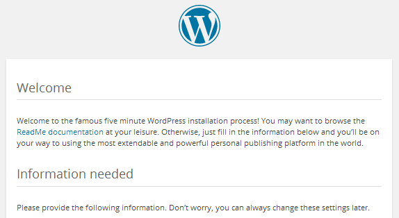 local-wordpress-install