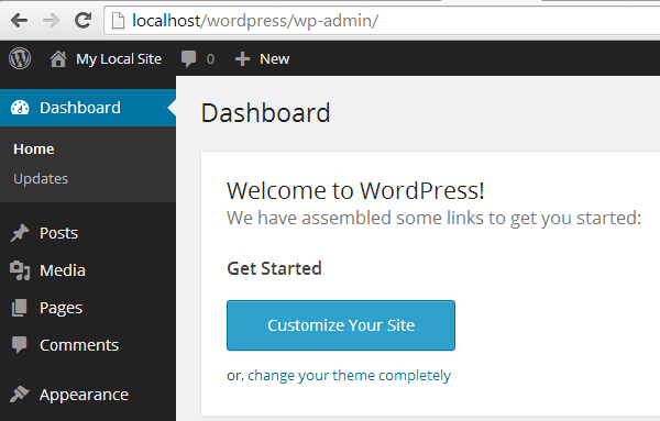 local-wordpress