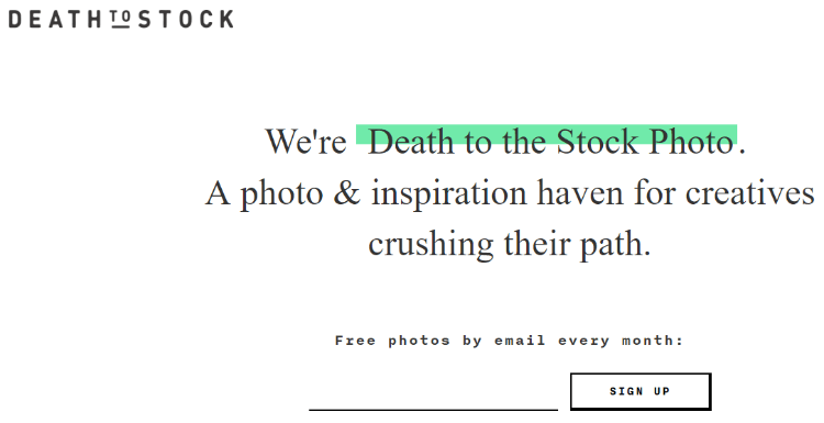 death-to-the-stock-photo