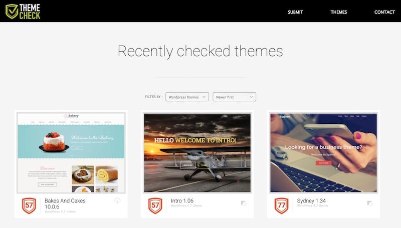 ThemeCheck.org, или как узнать безопасность и надежность темы WordPress