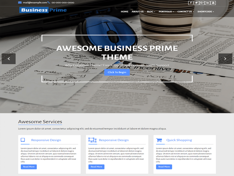 Business-Prime-theme