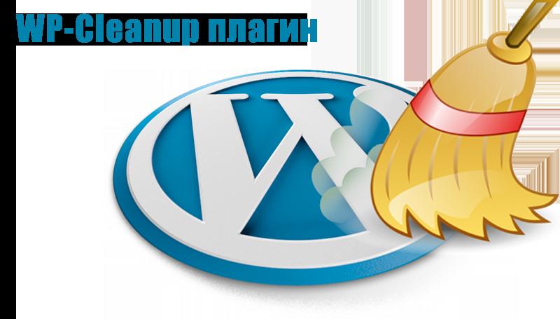 WP Clean Up плагин