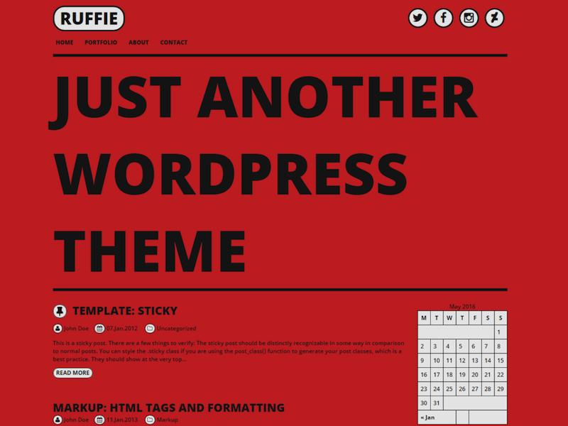 Ruffie-theme