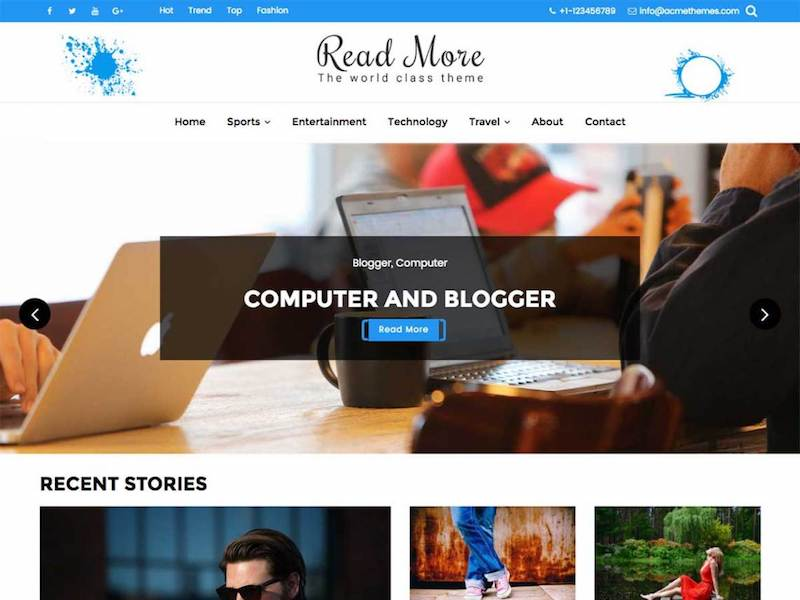 Read-More-wordpress-theme